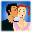 Vrouwen flirten onbewust